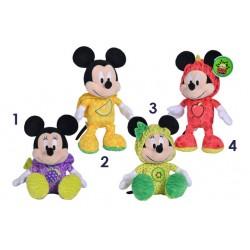 Mickey / Minnie en fruit, 27cm